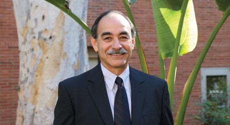 Carlos Grijalva receives a UCLA Diversity Award
