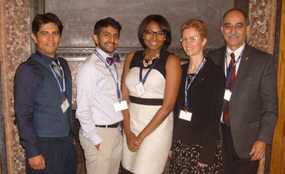 UCLA 2013-2014 Inductees at the Yale Bouchet Conference on Diversity and Graduate Education