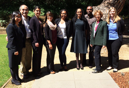UCLA PhD Students, Postdocs, Faculty, and Staff at the CA Alliance Retreat