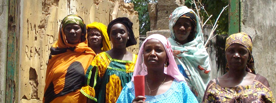 Members of the Central African Women's Association