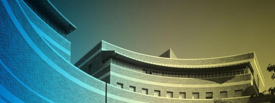 A circular building at Anderson