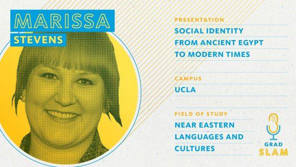 Marissa Stevens - UCLA Grad Slam Winner